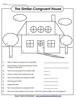 Congruent Shapes Worksheets 3rd Grade Printable Worksheets Are A Valuable Lecture Room Tool They Not In 2021 Geometry Worksheets Shapes Worksheets Congruent Shapes Congruent and similar figures worksheets