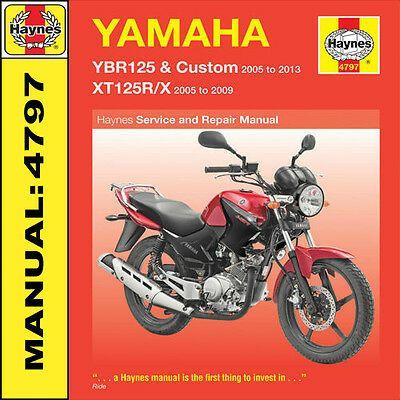Advertisement Ebay Haynes Yamaha Ybr125 Xt125 Ybr125r X 2005 2013 Manuel 4797 Neuf In 2020 Vw Passat Yamaha Yzfr6