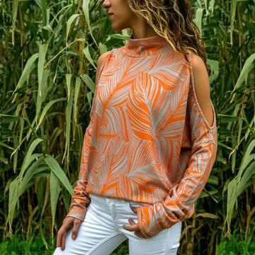 Womens Polka Dot Tops Shirts Blouse Ladies V Neck Tie Long Sleeve T-Shirt 12-20