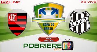 Flamengo X Ponte Preta Ao Vivo Com Imagens Viver Sozinho