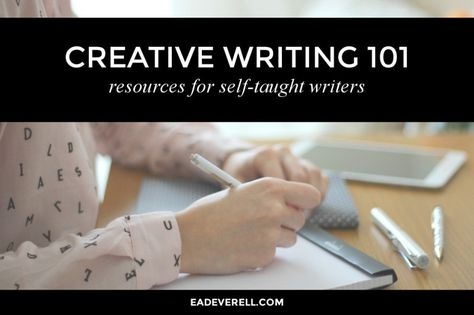 A list of writing resources for self-taught writers.