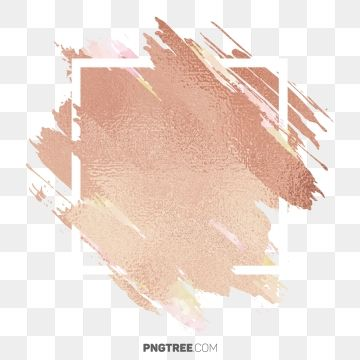 Abstract Brown Color Pastel Watercolor Circular Transparent