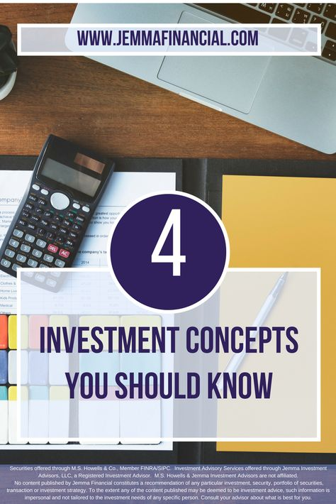 Four Investing Concepts Everyone Should Know | Jemma Financial