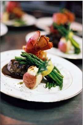 Paradise Banquet Hall Entree Wedding Main Course Food Weddings Party Pinterest Entrees And
