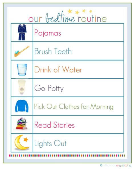 Free  Routine printables and more!