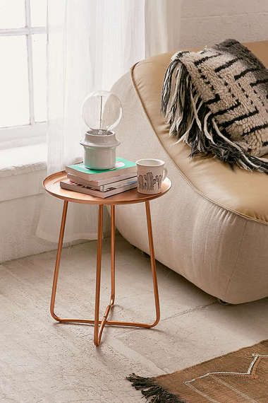 Side Piece 23 Cool Side Tables Under 150 Metal Side Table