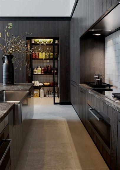 Luxury Small Kitchen Contemporary Kitchen Design Modern Kitchen Pantry Interior Design Kitchen