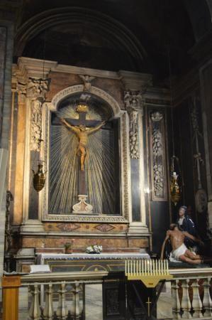 Basilica Di Sant Andrea Delle Fratte Sant Andrea Crucifixion Rome