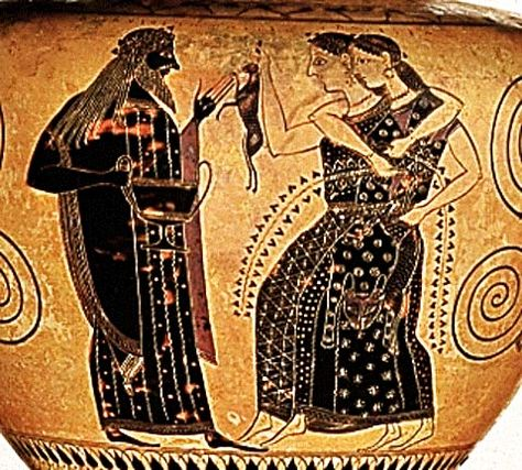 Bacchae Were The Female Devotees Of The Roman God Bacchus In