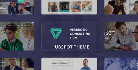 Verbrotic — Consulting HubSpot Theme   Stylelib