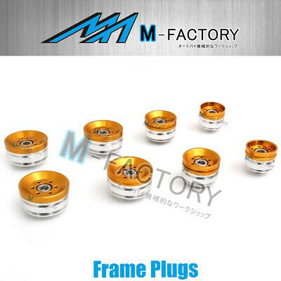 Advertisement Ebay Gold Cnc Frame Plugs Caps Kit Fit Ducati Diavel 2009 2015 Ducati Diavel Ducati Motorcycle Parts And Accessories