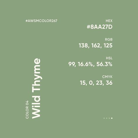 """Awesome Color Palette on Instagram: """"🎨 #AWSMCOLOR267 6C4F57 • E8DDCD • FCF7EF • 8AA27D ⠀ Follow for more color inspiration: Color Gradients:…"""""""