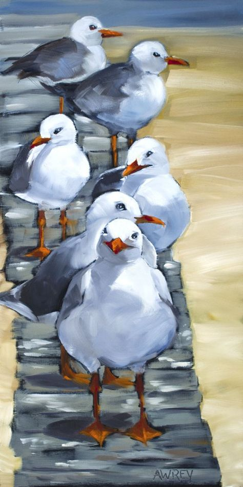 What is Your Painting Style? How do you find your own painting style? What is your painting style? Watercolor Bird, Watercolor Paintings, Landscape Paintings, Beach Paintings, Bird Paintings On Canvas, Bird Artwork, Watercolours, Art Oil Paintings, Landscape Sketch