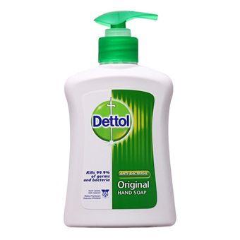 ژل ضد عفونی کننده دست Dettol Hand Sanitizer Dish Soap Bottle