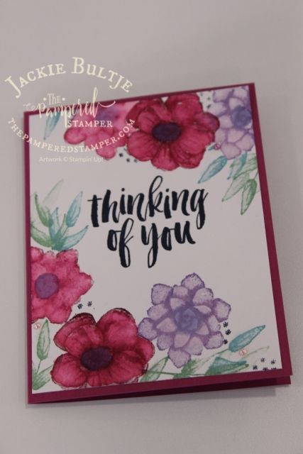 Watercolouring On Shimmery White Cardstock Paint Cards Card
