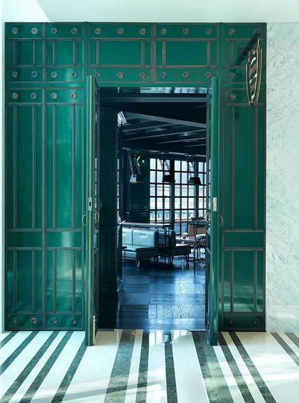 Avroko Front Door Design Bar Design Restaurant Door Design