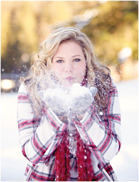 Beautiful winter engagement session