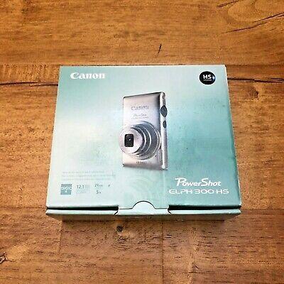 Canon Powershot Elph 300 Hs 12 1mp Digital Camera Black Powershot Canon Powershot Elph Canon Powershot