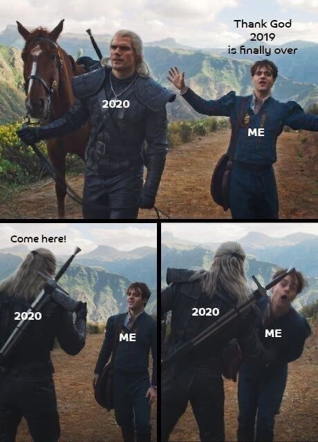 Fresh Memes That Sum Up January 2020 The Witcher Humor Funny Memes