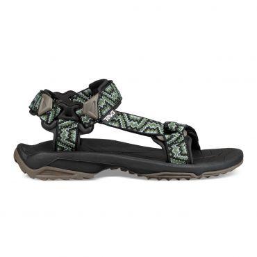 Teva Terra Fi Lite sandalen heren nikos black green | Paarse