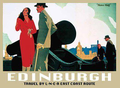 Vintage LNER East Anglia Coast Railway Poster A4//A3//A2//A1 Print