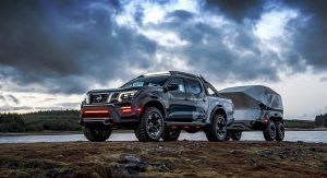 Nissan Navara Dark Sky Concept Packs Plenty Of Star Power Thanks Its To Observatory Class Telescope Carscoops Nissan Navara Dark Skies Nissan