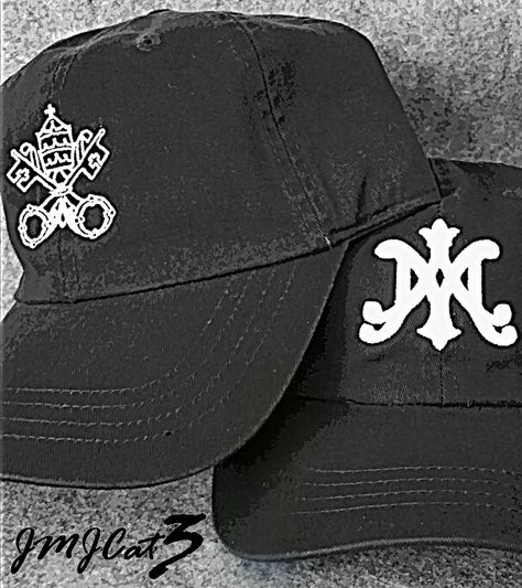 WWW.JMJCAT3.COM Catholic Head Gear #jmjcat3 #jesus #Catholic #Christian #Católico