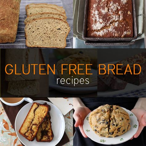 Having a family full of different meal restrictions is difficult, but we all strive to make it as enjoyable as possible.  Here are some great ideas!  7 Gluten Free Bread Recipes   Recipes   NoshOnIt - #GlutenFree