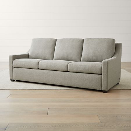 Perry King Sleeper Sofa Reviews Crate And Barrel In 2020 Sleeper Sofa Sofa Review Sofa