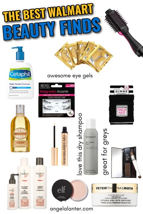 Walmart Beauty Products I Can't Live Without | Makeup Monday | Angela Lanter