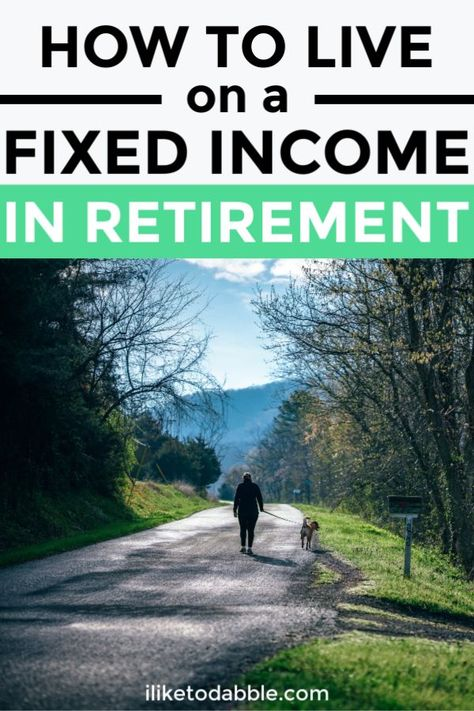 Tips for new retirees and how to live on a fixed income in retirement. Tips for new retirees and how to live on a fixed income in retirement.