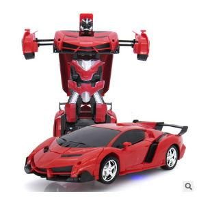 2 In 1 Transformation RC Car Models Toy Remote Control