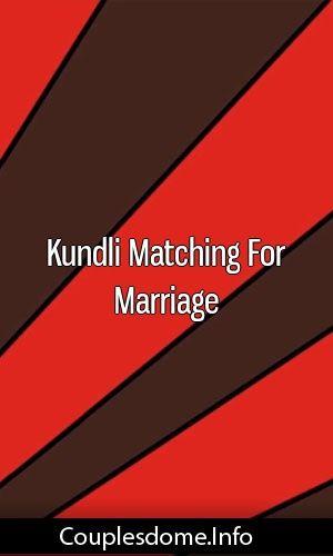 matchmaking Kundli pour le mariage