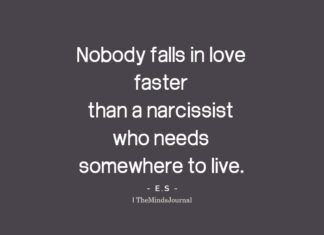 When a narcissist falls in love