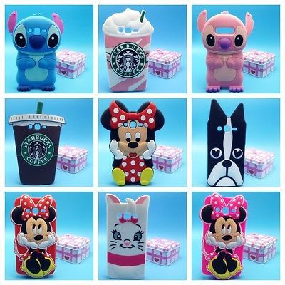 more photos 4be40 1b051 Details about 3D Cute Cartoon Unicorn Soft Silicone Phone Case Cover ...