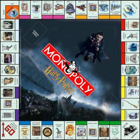 Potter Frenchy Party - Une fête chez Harry Potter: Travaux pratiques : le jeu Monopoly Harry Potter