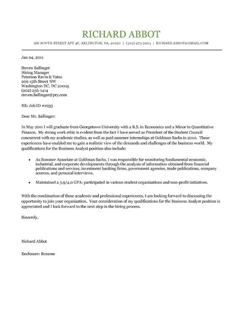 Student Cover Letter Example Cover letter example, Letter - student resume cover letter