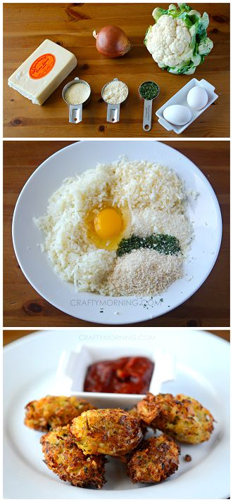 Cauliflower Tater Tot Recipe (Kid approved!) #Healthy side