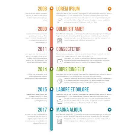 Stock Vector Infographic Workflow Diagram Templates