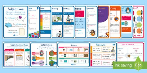 First Grade Writing Posters Resource Pack