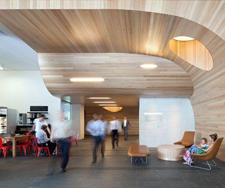 GREEN SQUARE NORTH LOBBY By Geyer | Legno Architettura Design