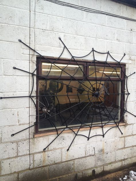 """You can get these custom made security grills from """"Art of Metal"""" in the UK. £650.00"""