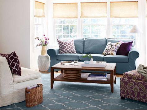 Give your living room a quick remix. #decorideas #homehelp