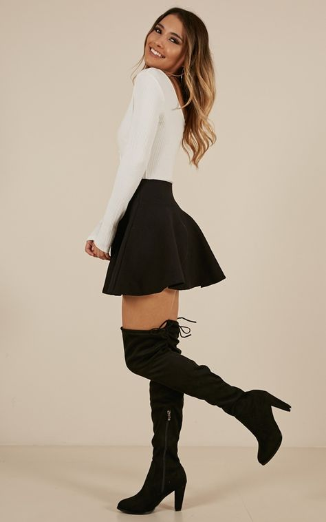 Sweet skirt and blouse