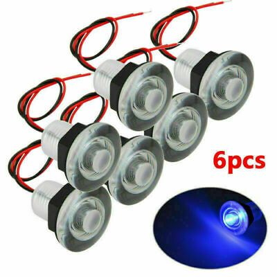Sponsored Ebay 6pcs 38mm 12v Blue Led Blue Light Boat Rv Courtesy Lighting Stair Lamp Boat Part In 2020 Boat Lights Waterproof Led Lights Boat Led