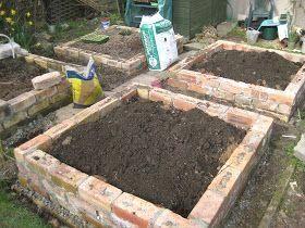 Precious Tips For Outdoor Gardens In 2020 Brick Raised Garden Beds Vegetable Garden Raised Beds Raised Garden