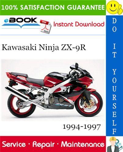 Kawasaki Ninja Zx 9r Motorrad Service Reparaturhandbuch 1994 1995 1996 1997 Herunterladen