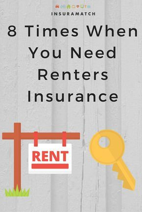 8 Scenarios Where You Need Renters Insurance In 2020 Life