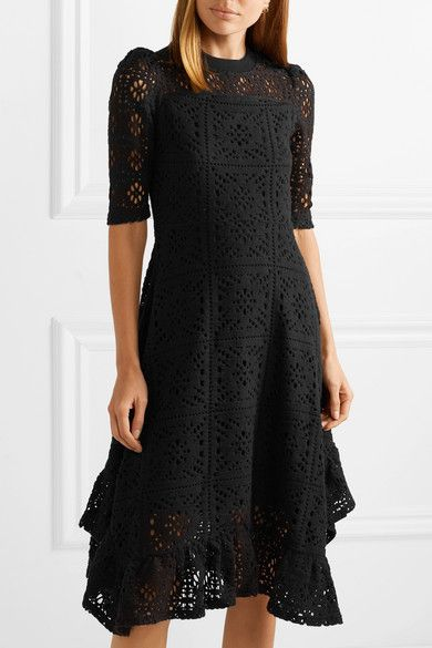 a875cec4dc See By Chloé - Asymmetric laser-cut jersey dress in 2019 | Clothing ...