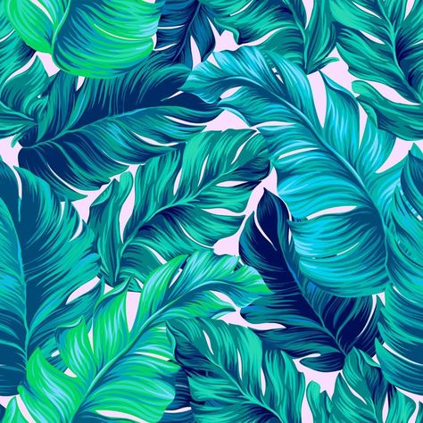 artistic palms pattern with seamless vector design. Pattern for summer designs.